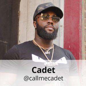 cadet rapper instagram name; @callmecadet