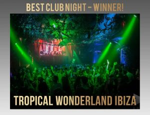 tropical wonderland at eden winner of best club night 2018