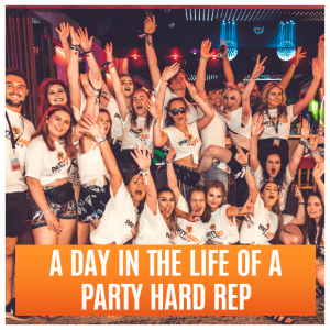 A day in the life of a Party Hard Rep