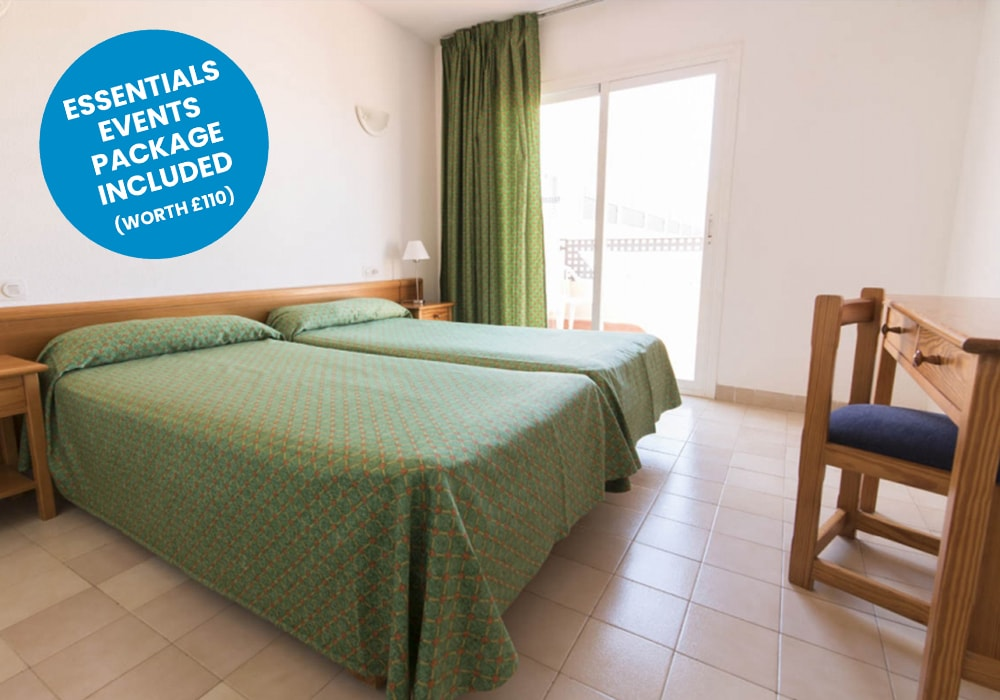 ibiza - azuline hotel blue sticker