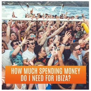 How much spending money do I need in Ibiza? Partygoers On Booze Cruise Boat