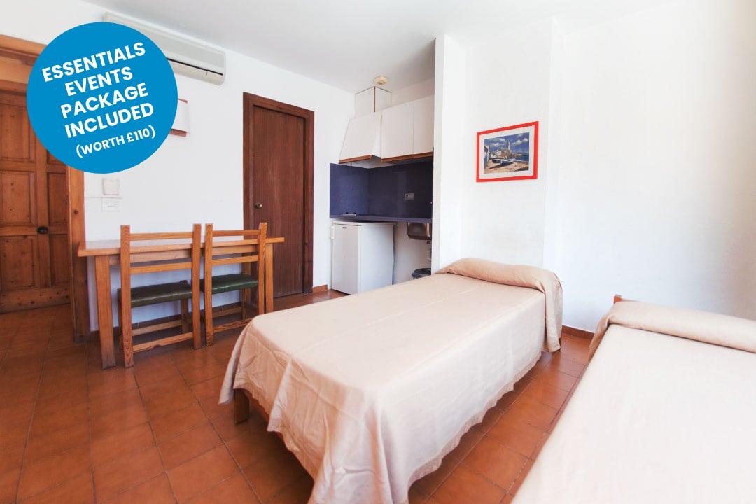 ibiza rocks apartments TWIN2 blue sticker