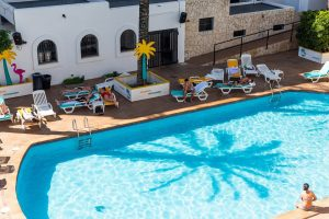 ibiza rocks hotel chill pool daytime