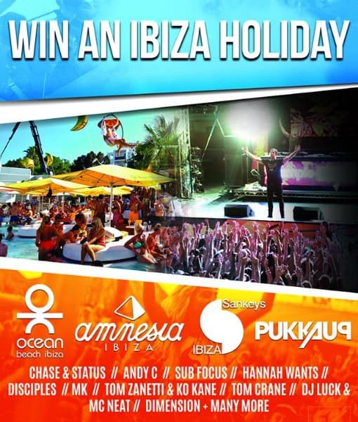 Sankeys Ibiza competition