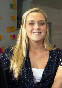Jodie Pilgrim, Head of Overseas Management