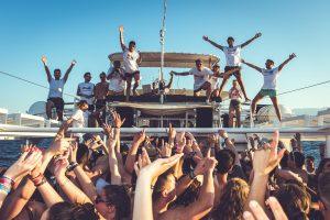 malia booze cruise entertainers