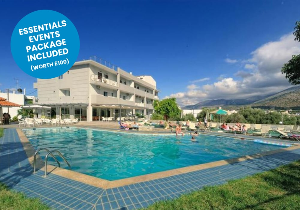 malia - hermes hotel blue sticker