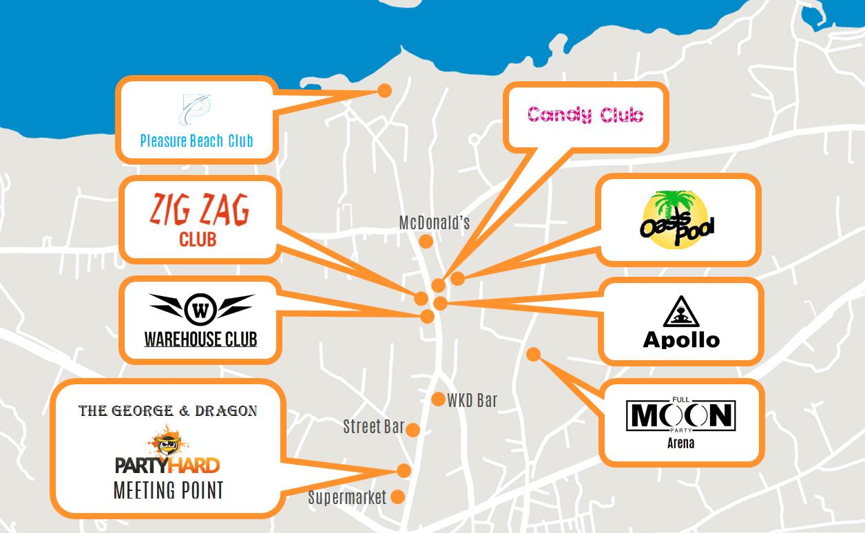 Map of malia strip clubs