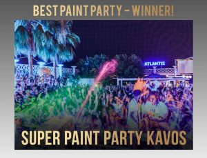 super paint party kavos winner of best paint party 2018