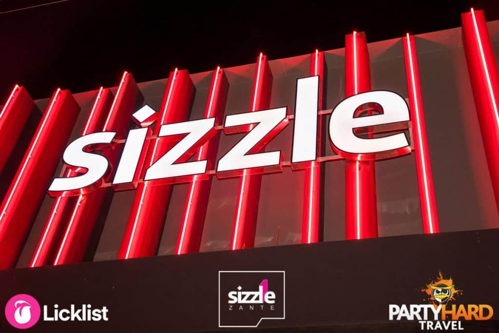 Sizzle Club on the Zante Strip in the resort of Laganas