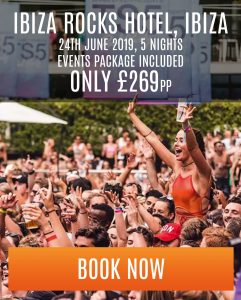 ibiza special offer ibiza rocks hotel - 5 nights - £269 pp