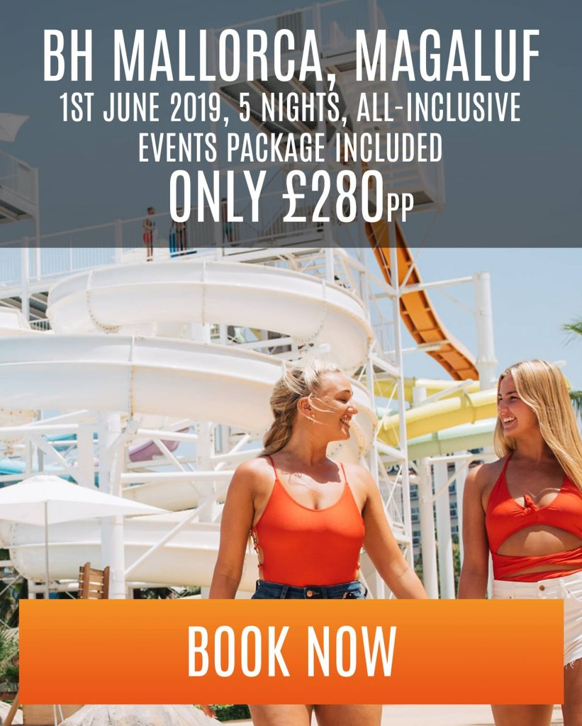 magaluf special offer at bh mallorca - 5 nights - £280pp