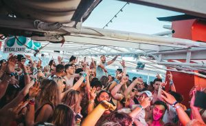 tidal boat party party deck